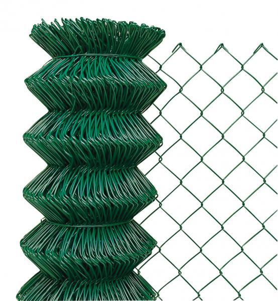 Pletivo Poplastované bez Napínacího Drátu 50x50mm 1,65/2,5mm 125cm Zelená 1,1Kg