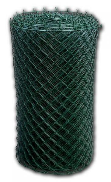 Pletivo Poplastované s Napínacím Drátem 50x50mm 1,65/2,5mm 100cm Zelená 0,9Kg