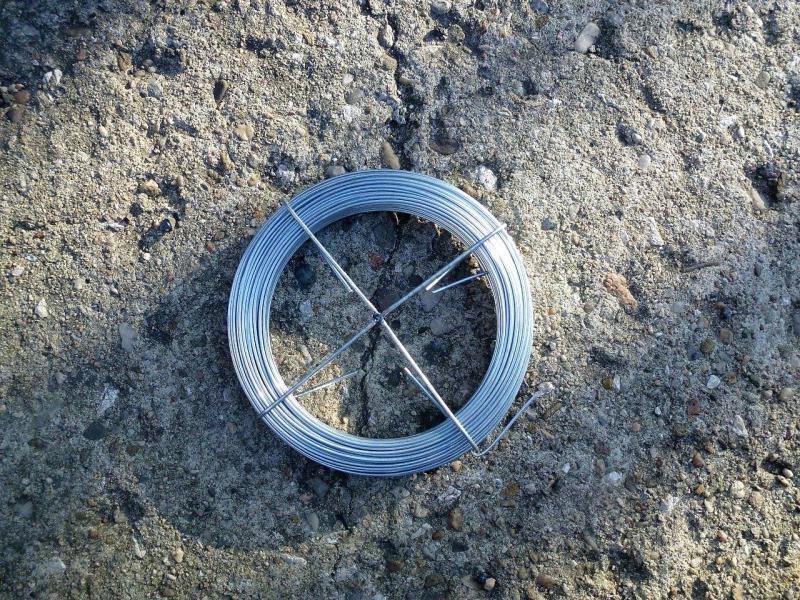 Vázací drát Pozinkovaný 1,5mm 30bm Zn 0,6Kg